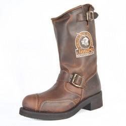 Bottes cuir homme Sendra marron 3565
